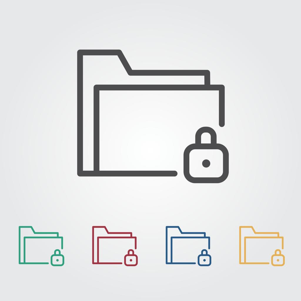 Lock on Computer Folders